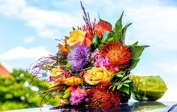 Γαμήλια ανθοδέσμη χρώματος Στοκ Εικόνα
