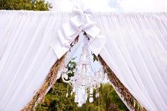 Γαμήλια αψίδα Στοκ φωτογραφία με δικαίωμα ελεύθερης χρήσης