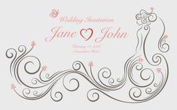 Γαμήλια γραφική διακόσμηση Στοκ εικόνες με δικαίωμα ελεύθερης χρήσης