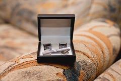 Γαμήλια εξαρτήματα για το νεόνυμφο Στοκ Εικόνες