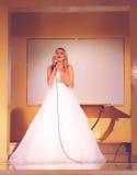 Γαμήλια επίδειξη μόδας Στοκ Εικόνες