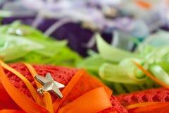 Γαμήλια εύνοια Στοκ φωτογραφίες με δικαίωμα ελεύθερης χρήσης