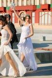 Γαμήλια ζεύγη Στοκ Φωτογραφία