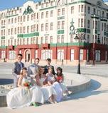 Γαμήλια ζεύγη Στοκ εικόνες με δικαίωμα ελεύθερης χρήσης