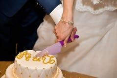 Γαμήλια κέικ Στοκ Εικόνες