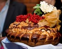 Γαμήλια κέικ Στοκ Φωτογραφία