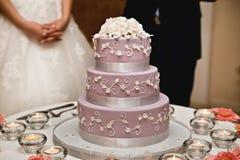 Γαμήλια κέικ Στοκ φωτογραφία με δικαίωμα ελεύθερης χρήσης