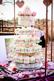 Γαμήλια κέικ/Cupcakes Στοκ Εικόνες