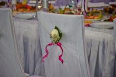 Γαμήλια καρέκλα Στοκ εικόνες με δικαίωμα ελεύθερης χρήσης