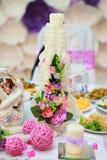 Γαμήλια κεριά Στοκ Εικόνες