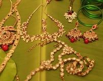 Γαμήλια κοσμήματα γυναικών Στοκ Εικόνα