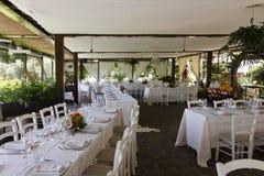 Γαμήλια οργάνωση εστιατορίων Στοκ Εικόνες