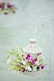 Γαμήλια λουλούδια στην παραλία των Μαλδίβες Στοκ φωτογραφίες με δικαίωμα ελεύθερης χρήσης