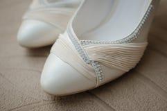 Γαμήλια παπούτσια Στοκ εικόνες με δικαίωμα ελεύθερης χρήσης
