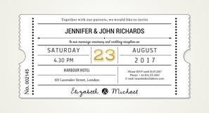 Γαμήλια πρόσκληση PT 1 πρότυπο - προσκαλέστε (με τις χρησιμοποιημένες πηγές που απαριθμούνται στο αρχείο) Στοκ εικόνα με δικαίωμα ελεύθερης χρήσης