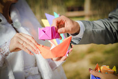 Γαμήλια σύνεργα Στοκ φωτογραφία με δικαίωμα ελεύθερης χρήσης