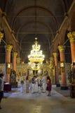 Γαμήλια τελετή εκκλησιών Στοκ Φωτογραφία
