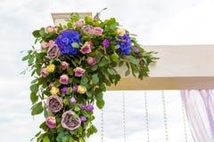 Γαμήλια τελετή διακοσμήσεων Παραλαβές γαμήλιων διακοσμήσεων Στοκ εικόνες με δικαίωμα ελεύθερης χρήσης