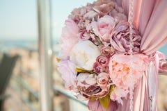 Γαμήλια υπαίθρια διακόσμηση Στοκ Φωτογραφίες