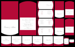 Γαμήλια χαρτικά απεικόνιση αποθεμάτων
