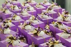 Γαμήλια δώρα για το φιλοξενούμενο στοκ εικόνες με δικαίωμα ελεύθερης χρήσης