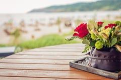 Γαμήλιες λεπτομέρειες παραλιών Στοκ εικόνες με δικαίωμα ελεύθερης χρήσης