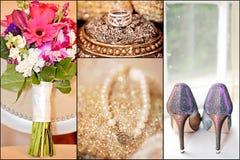 Γαμήλιες λεπτομέρειες Στοκ Φωτογραφίες