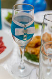 Γαμήλιες διακοσμήσεις Στοκ εικόνες με δικαίωμα ελεύθερης χρήσης