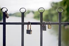 Γαμήλιες κλειδαριές Στοκ φωτογραφία με δικαίωμα ελεύθερης χρήσης