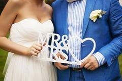 γαμήλιες νεολαίες ζευγών Νεόνυμφος και νύφη από κοινού Στοκ Εικόνα