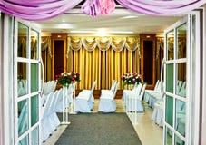 Γαμήλιος εορτασμός στο ξενοδοχείο Στοκ Εικόνες