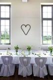 Γαμήλιος πίνακας Στοκ εικόνα με δικαίωμα ελεύθερης χρήσης