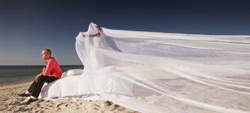 Γαμήλιος πυροβολισμός Στοκ Φωτογραφία