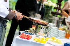 Γαμήλιος τομέας εστιάσεως Στοκ Εικόνα