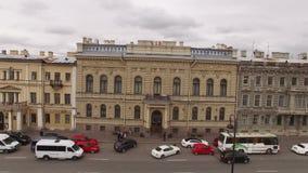 Γαμήλιο Άγιος-Πετρούπολη παλάτι απόθεμα βίντεο