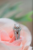 Γαμήλιο δαχτυλίδι - εικόνα αποθεμάτων Στοκ Εικόνες