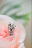 Γαμήλιο δαχτυλίδι Στοκ φωτογραφίες με δικαίωμα ελεύθερης χρήσης