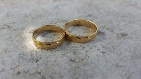 γαμήλιο λευκό δαχτυλιδιών ανασκόπησης ανοιχτό Στοκ Εικόνα