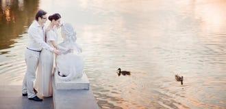 Γαμήλιο ζεύγος Στοκ φωτογραφίες με δικαίωμα ελεύθερης χρήσης