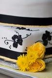 Γαμήλιο κέικ Στοκ Εικόνα