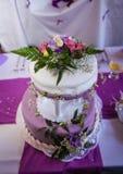 Γαμήλιο κέικ στοκ εικόνα με δικαίωμα ελεύθερης χρήσης