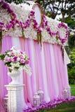 Γαμήλιο σκηνικό στοκ φωτογραφία με δικαίωμα ελεύθερης χρήσης