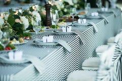 Γαμήλιο συμπόσιο Στοκ φωτογραφίες με δικαίωμα ελεύθερης χρήσης