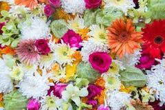 Γαμήλιο υπόβαθρο λουλουδιών λουλουδιών Στοκ εικόνες με δικαίωμα ελεύθερης χρήσης