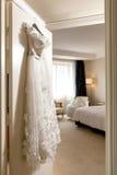 Γαμήλιο φόρεμα Στοκ Εικόνες