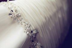 Γαμήλιο φόρεμα Στοκ φωτογραφίες με δικαίωμα ελεύθερης χρήσης