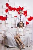 Γαμήλιο όμορφο ζεύγος Στοκ φωτογραφία με δικαίωμα ελεύθερης χρήσης