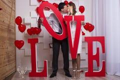 Γαμήλιο όμορφο ζεύγος Στοκ Εικόνες