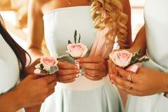 Γαμήλιο buttonhole Στοκ Εικόνα