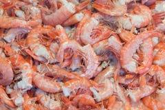γαρίδες άψητες Στοκ Φωτογραφία